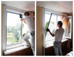 Как устранить выгибание профиля пластикового окна